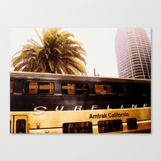 All Aboard the Surfline Canvas Print