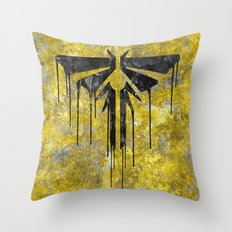The Last Of Us Fireflies… Throw Pillow