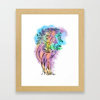 Tree of Love Framed Art Print
