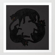 vicious circle Art Print