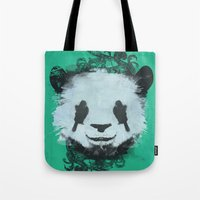 Pretty Panda Tote Bag