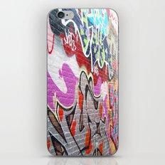 graffiti3 iPhone & iPod Skin