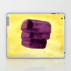 transparent Yellow Laptop & iPad Skin