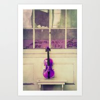 Violin III Art Print