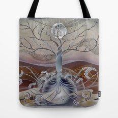 winter in the garden of eden Tote Bag