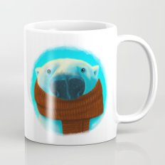 Polar bear with scarf Mug