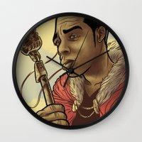 Proclaimed King of Rap Wall Clock