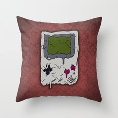 Decay of Gaming Throw Pillow