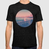 Summer Dreams Mens Fitted Tee Tri-Black SMALL