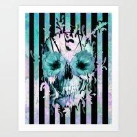 Limbo, dreaming in color Art Print