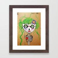 Gueixa Framed Art Print