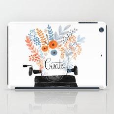 Create   Typewriter iPad Case