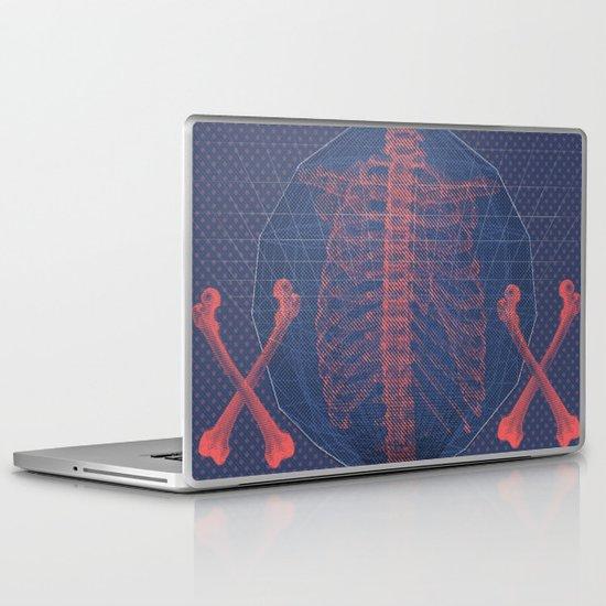 """The Bones of What You Believe"" by Matthew Vidalis Laptop & iPad Skin"