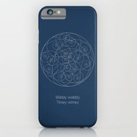 Doctor Who: Wibbly Wobbly iPhone 6 Slim Case