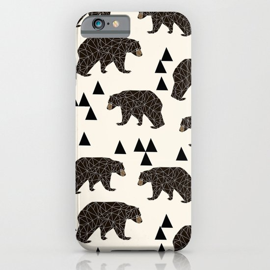 Geo Bear by Andrea Lauren iPhone & iPod Case