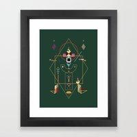 the last emperor Framed Art Print
