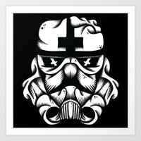 Satanic Trooper Art Print