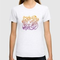 Persecution Womens Fitted Tee Ash Grey SMALL