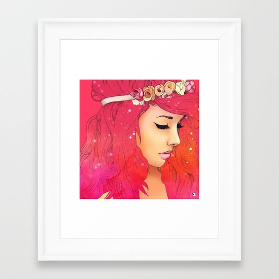 Chromatism Framed Art Print