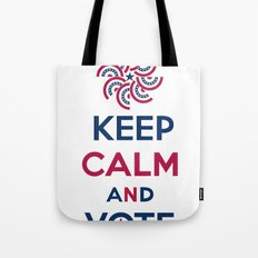 Keep Calm and Vote Tote Bag