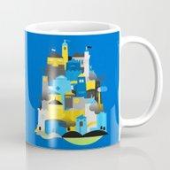 Magic Town - Blue Mug