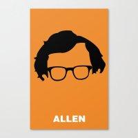 Allen Canvas Print