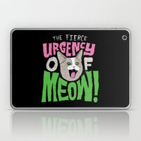 The Fierce Urgency of Meow! Laptop & iPad Skin