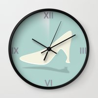 Cinderella Clock Wall Clock