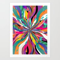 Pop Tunnel Art Print
