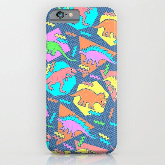 Nineties Dinosaur Pattern iPhone & iPod Case