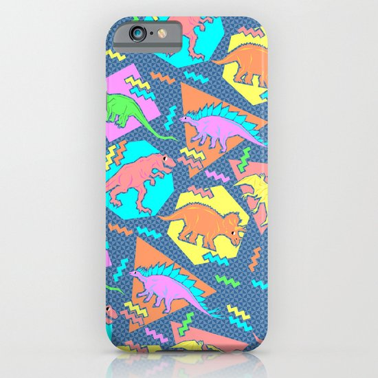 Nineties Dinosaur Pattern iPhone & iPod Case