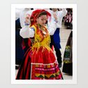 DANCE, TRADITION, PORTUGAL, LISBON Art Print