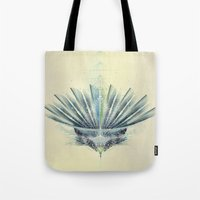 The Feathered Tribe Abst… Tote Bag