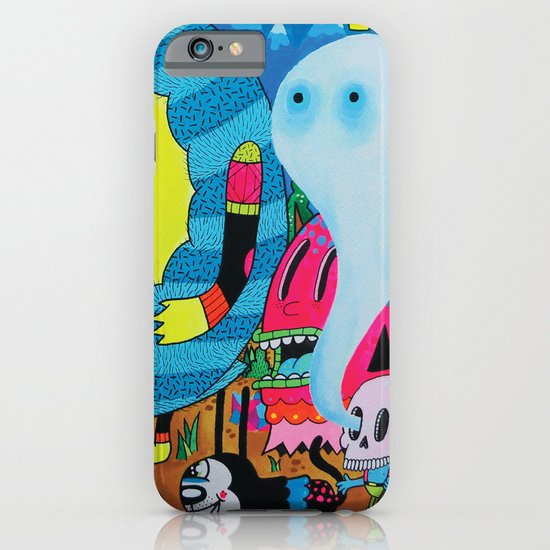 The Treasure Hunters iPhone & iPod Case