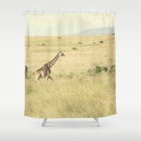 journey::kenya Shower Curtain