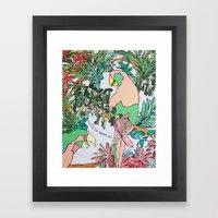 Paradise Pink Framed Art Print