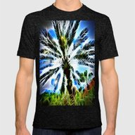 Spike!  Mens Fitted Tee Tri-Black SMALL