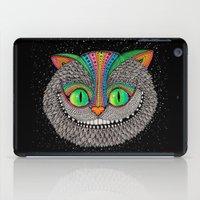 Alice in wonderland art fan by Luna Portnoi iPad Case