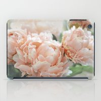 Peach Peonies iPad Case