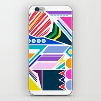 Geo Splash iPhone & iPod Skin