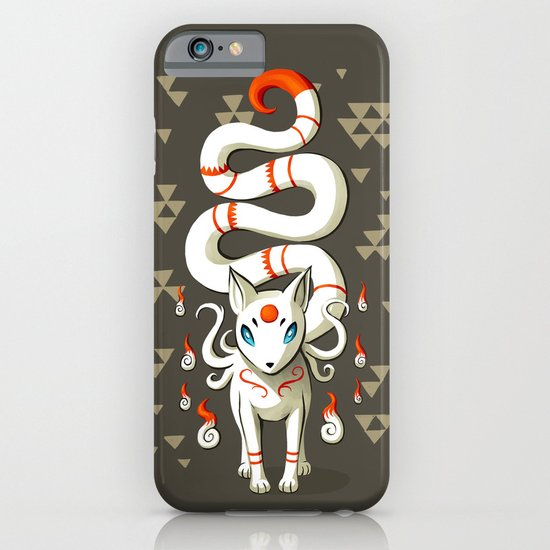 Long Tail Fox iPhone & iPod Case