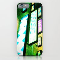 iPhone & iPod Case featuring Neon Glow by Tristan Tait