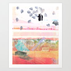 Only Foundations Remain Art Print