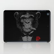 iPad Case featuring Monkey Business by Alex Solis