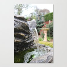The British waterfall Canvas Print