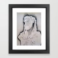 Herakles Framed Art Print