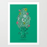 Troll Of Nature Art Print