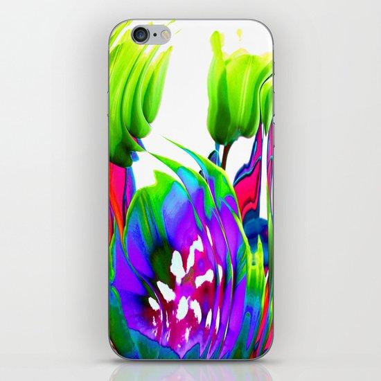 Flower Art iPhone & iPod Skin