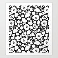 Clear Cut Flowers Art Print