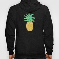 Pineapples and Polka Dots (pattern) Hoody